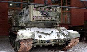 Cỗ xe tăng laser gắn khối hồng ngọc 30 kg của Liên Xô
