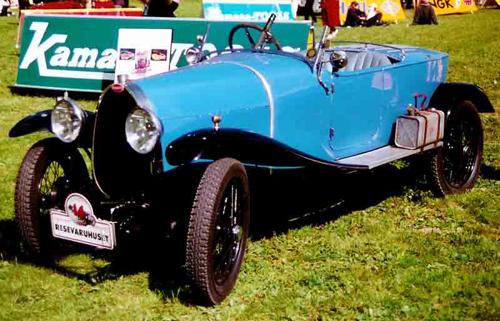Một chiếc xe Bugatti Type 22 Brescia nguyên bản. Ảnh: Wikimedia