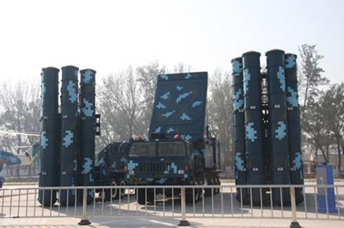 Hệ thống tên lửa HQ-9. Ảnh: People