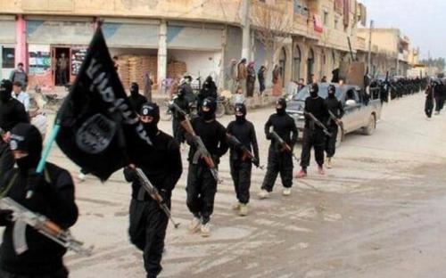 Phiến quân Nhà nước Hồi giáo tự xưng (IS). Ảnh: AP