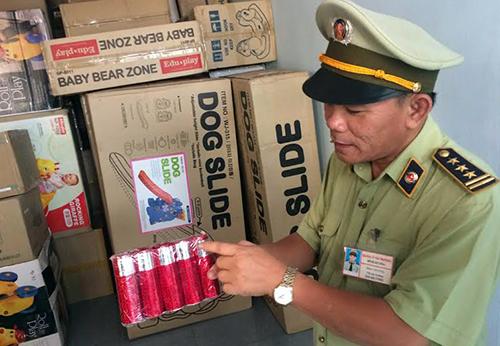 Số pháo hoa được cho nhập lậu từ Trung Quốc