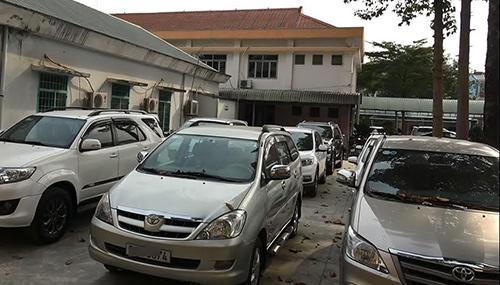 Nhiều ô tô do kiều nữ cầm được thu hồi. Ảnh: Nguyệt Triều