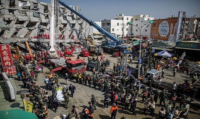 Những thảm họa thiên nhiên tồi tệ nhất năm 2016