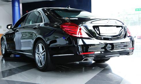 Toàn bộ linh kiện của xe S 400 L được nhập khẩu trực tiếp từ Đức.