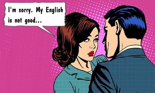 Bị trai đẹp chơi xỏ vì học dốt tiếng Anh