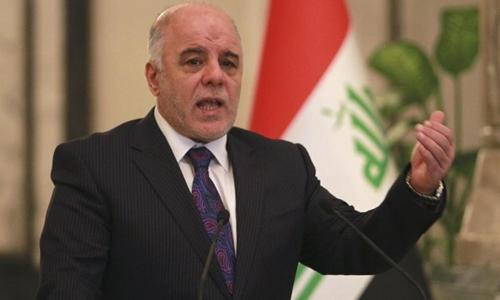 Thủ tướng Iraq Haider al-Abadi. Ảnh: Reuters.