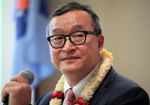 Ông Sam Rainsy. Ảnh: Reuters.