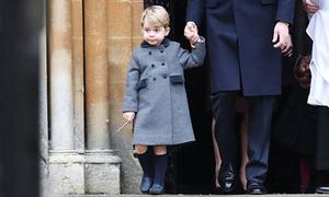 Áo khoác hoàng tử George mặc dịp Giáng sinh cháy hàng trong vài giờ