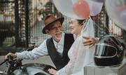 Ảnh cưới 'mối tình 50 năm' gây sốt cộng đồng