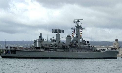 Khinh hạm Lynch của hải quân Chile. Ảnh: Wikipedia