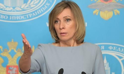 Người phát ngôn Bộ Ngoại giao Nga Maria Zakharova. Ảnh: Sputnik