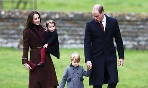 Hoàng tử William chi 8.000 đôla mỗi học kỳ cho con trai 3 tuổi