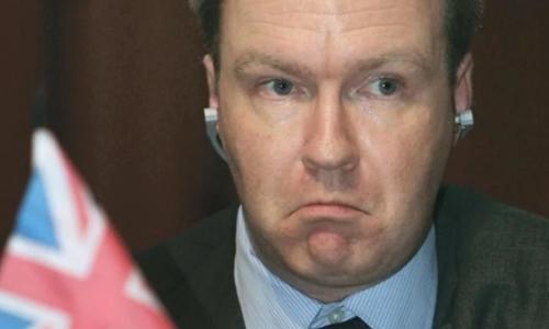 Đại sứ Anh tại Liên minh châu Âu (EU) Ivan Rogers. Ảnh: Alamy.