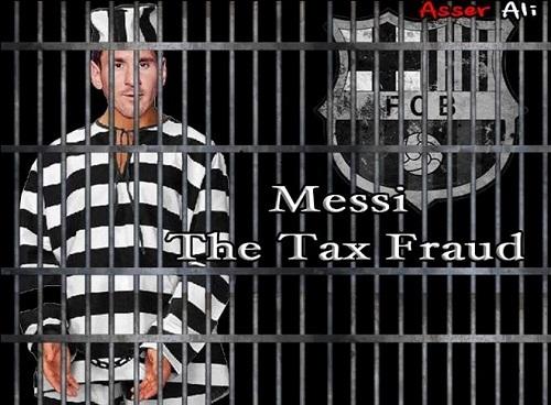 Poster chính thức bộ phim Messi trốn thuế.