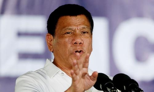 Tổng thống Duterte có họ hàng tham gia IS