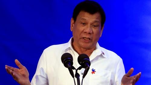 Tổng thống Philippines Rodrigo Duterte. Ảnh: