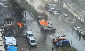 Đánh bom xe tại Thổ Nhĩ Kỳ, hai hung thủ bị tiêu diệt