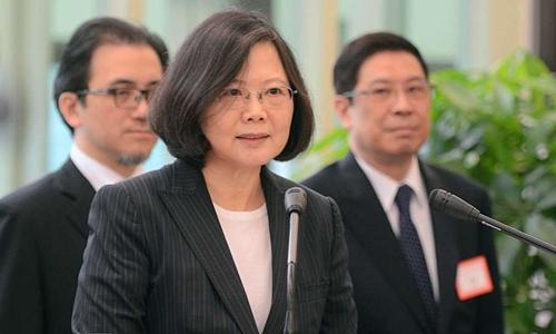 Nhà lãnh đạo Đài Loan Thái Anh Văn. Ảnh: China Post