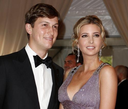 Jared Kushner và vợ, Ivanka Trump. Ảnh: IBTimes