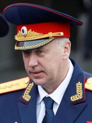 Alexander Bastrykin, lãnh đạo Ủy ban Điều tra Nga, trợ lý thân cận của Putin. Ảnh: REuters