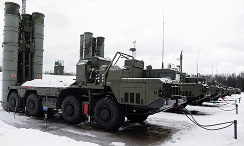Hệ thống S-400 Triumf. Ảnh: Sputnik.