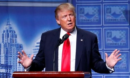 Tổng thống Mỹ đắc cử Donald Trump. Ảnh: Reuters.