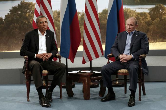 Những lần Obama chạm trán Putin trong 8 năm cầm quyền