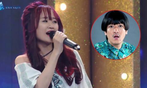 Nữ sinh Cần Thơ hát rap khiến Trường Giang ngơ ngác