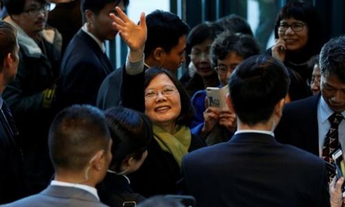 Nhà lãnh đạo Đài Loan Thái Anh Văn. Ảnh: Reuters