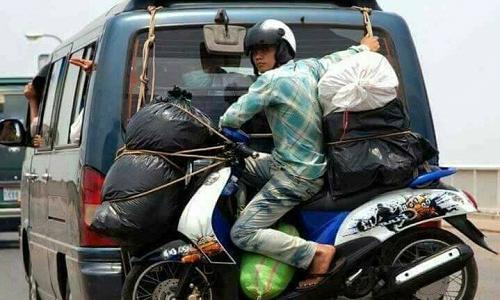 Về quê đón Tết phong cách Việt Nam.
