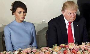 Vợ chồng Trump không ở cạnh nhau dịp kỷ niệm 12 năm ngày cưới