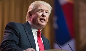 Báo Trung Quốc lo Trump 'đốt lửa trước thềm'