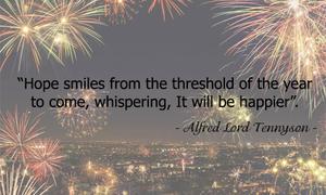 Những câu nói hay về năm mới bằng tiếng Anh