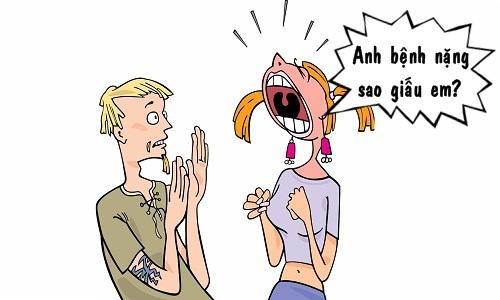Vợ phát hoảng với ông chồng keo kiệt