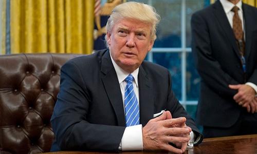 Tổng thống Mỹ Donald Trump. Ảnh: Time