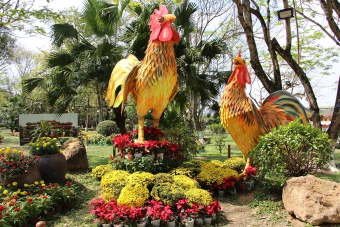 Đàn gà khổng lồ bên dòng sông Hương
