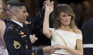 Trung sĩ Mỹ kể về điệu nhảy cùng Đệ nhất phu nhân Melania