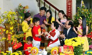 Nếp nhà ngày Tết của đại gia đình gần 60 người ở miền Tây