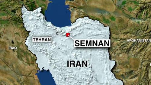 [Caption]vụ phóng phóng diễn ra hôm 29/1 từ một địa điểm gần Semnan, phía đông thủ đô Tehran.