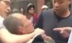Nhóm thanh niên đánh cựu chiến binh dã man vì va chạm giao thông