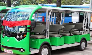 Trải nghiệm xe buýt điện đầu tiên ở Sài Gòn