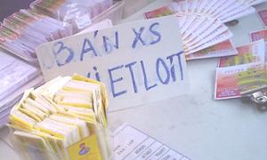 Xổ số Vietlott bán 'chui' đầy cửa phủ Tây Hồ