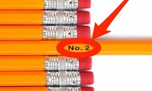 Ý nghĩa của những con số trên thân bút chì