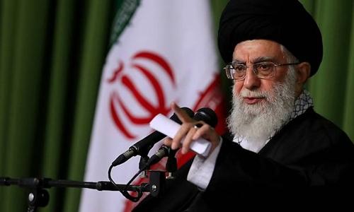 Lãnh đạo tinh thần tối cao Iran Ayatollah Ali Khamenei. Ảnh: AFP.