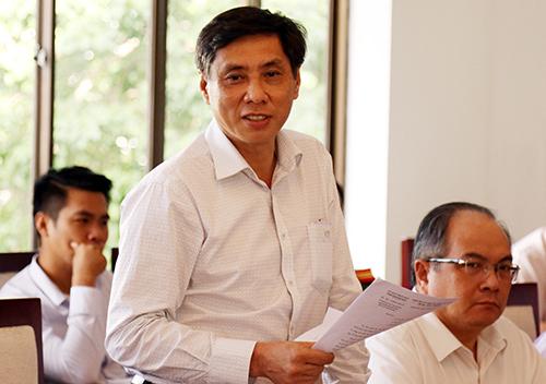 Ông Lê Đức Vinh - Chủ tịch tỉnh Khánh Hoà khẳng định an ninh được siết chặt trong Hội nghị APEC 2017. Ảnh: Xuân Ngọc