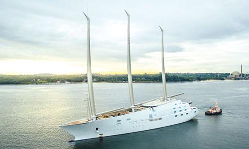 Sailing Yacht A được xem là du thuyền lớn và tốn kém nhất thế giới. Ảnh: