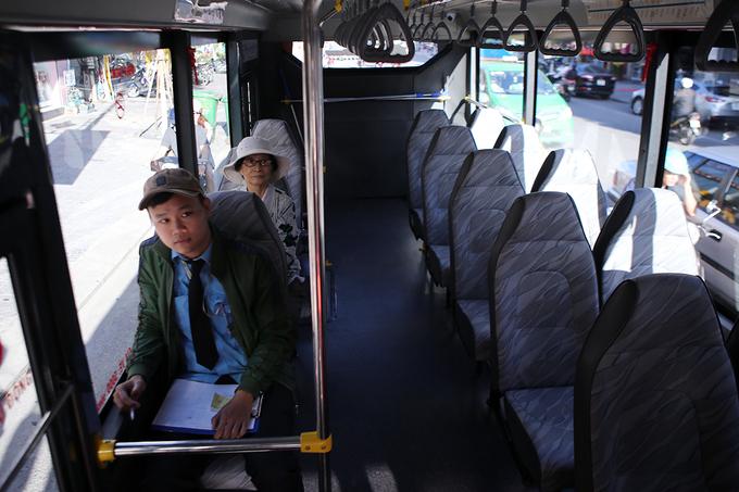 Xe buýt trợ giá ở Đà Nẵng đìu hiu khách