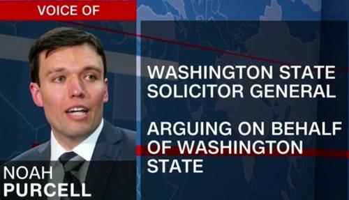 Noah Purcell, người đại diện cho bang Washington.