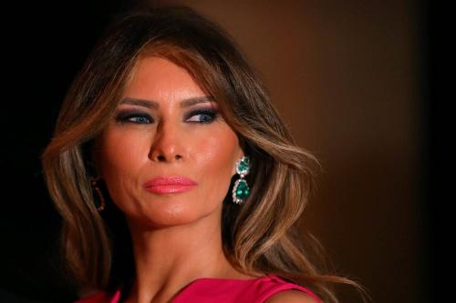 Đệ nhất phu nhân Mỹ Melania Trump. Ảnh: Reuters