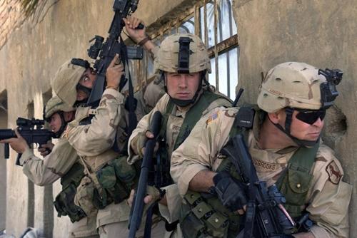 Lực lượng đặc nhiệm Mỹ. Ảnh: